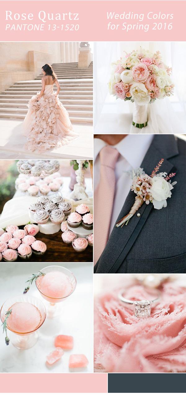 elegant-rose-pink-wedding-color-ideas-for-spring-2016-trends