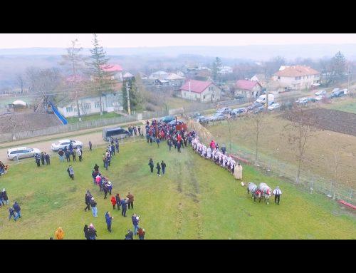 Obiceiuri de iarna – Cristesti, Botosani 2017 @ Filmare din drona